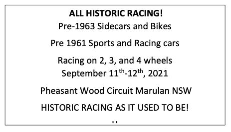 All Historic Racing